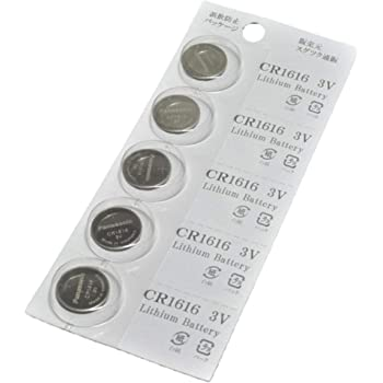 パナソニック CR1616 3V 【 5個 】 リチウムコイン電池 ブリスター オリジナル パッケージ( 業務用 )