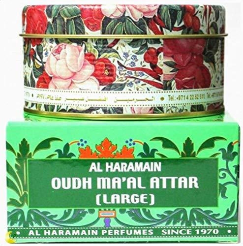 Al Haramain Oudh Ma'Al Attar bakhoor - Exotic Arabic Incense 50