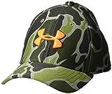 Under Armour Boys' Baseball Hat, Artillery Green, 1-3
