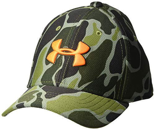Under Armour Baby Boys' Baseball Hat, Black 1, 1-3