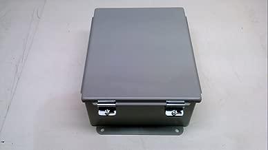 Hoffman A1008LP J Box, NEMA 12, Lift-Off Cover, Steel, 10.00