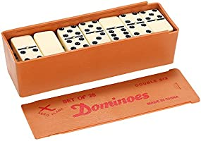 Walmeck Double Six Dominoes Set