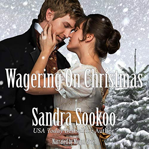 Wagering on Christmas audiobook cover art