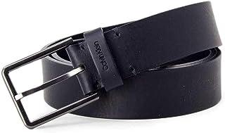 حزام اسنشيال 3.5 سم للرجال من كالفن كلاين، لون ازرق، 95 سم