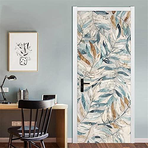 Murales Para Puertas 3D Pegatinas De Puerta Pintadas Decoración Pegatinas De Pared Autoadhesivas Calcomanía Mural