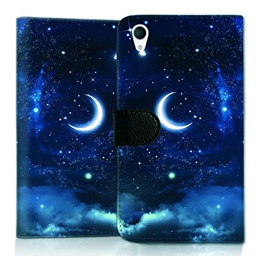 wicostar Wallet Book Style Flip Handy Tasche Hülle Schutz Hülle Schale Motiv Etui für LG L Bello 2 - Flip UMH15 Design7