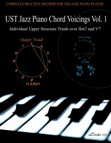 UST Jazz Piano Chord Voicings Vol. 1: Individual Upper Structures Triads over IIm7 and V7