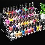 Neue klareSchichten Nagellack Rack Make-up Lagerregal Lippenstift Halter Kosmetik Schöne Organizer Box Make-up Tool Nagellack Behälter