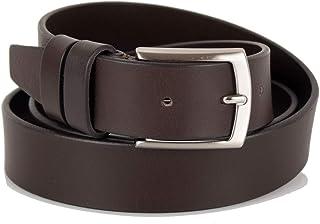 100/% Made in Italy Cintura Uomo in Vera pelle lucida di alta qualit/à doppio passante 35mm