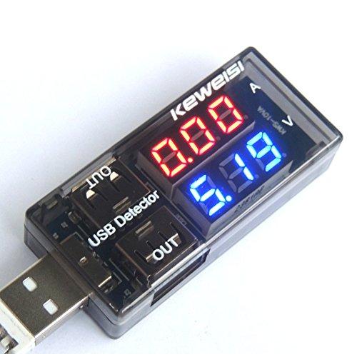 UEB Mini USB Multimeter Power Monitor Leistungsmesser/Leistungsmessgerät Digital Multimeter Amperemeter Spannung Detector