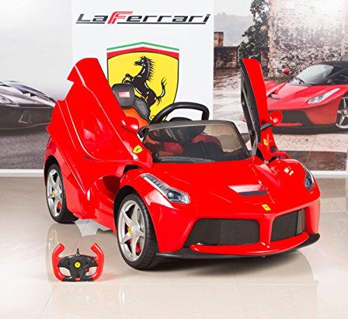 Kids Rastar LA Ferrari Electric Ride on Car