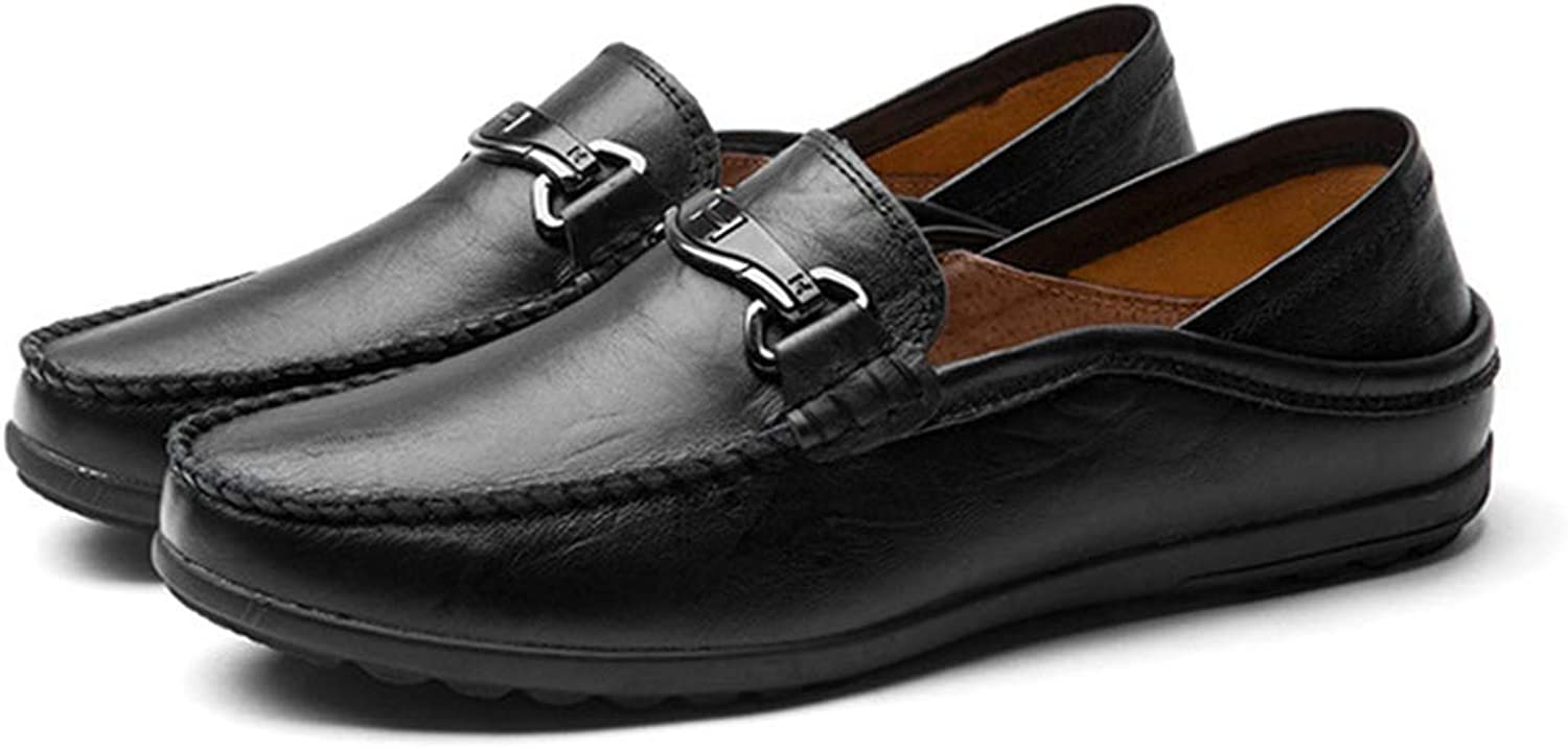 Phil Betty Mens Casual shoes Round-Toe Breathable Comfortable Flat Loafers shoes