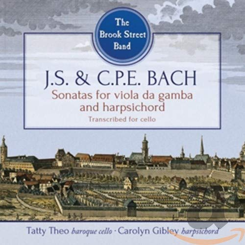 The Brook Street Band - J.S. And C.P.E. Bach: Viola De Gamb