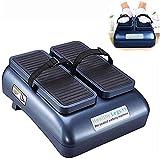 QDY -Ejercitador automático de piernas Sentado, máquina de Caminar pasiva, Paso a Paso eléctrico, Alivia el Dolor/promueve la circulación sanguínea para los Trabajadores de Oficina Mayores