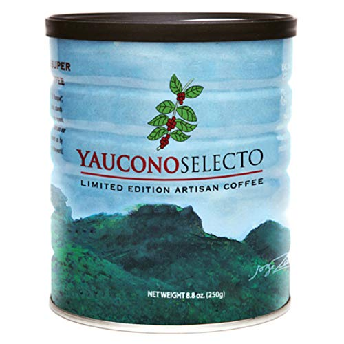 Yaucono Selecto Limited Edition Gourmet Ground Coffee in Canister, 8.8 Ounce (Pack of 1)