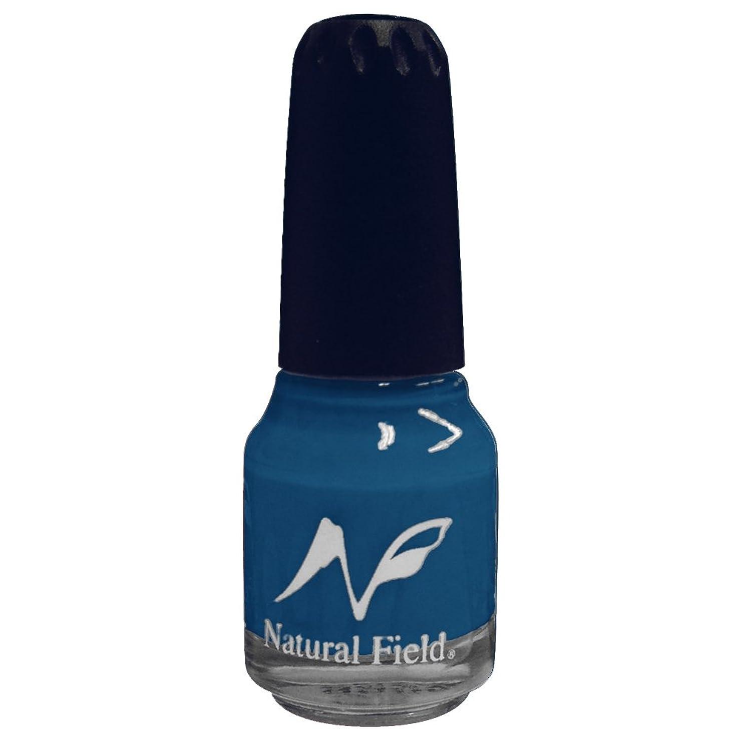 レギュラーレギュラー印象的なNatural Field ネイルポリッシュ ソリッドカラー 2053 ターコイズ 12ml
