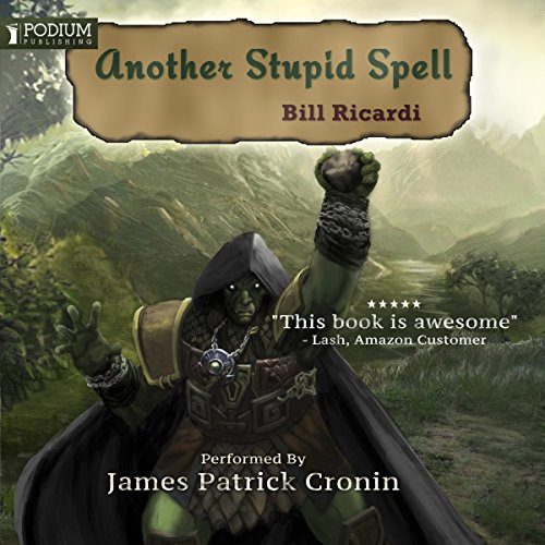 Another Stupid Spell audiobook cover art
