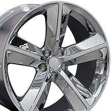 OE Wheels 20 Inch Fits Dodge Challenger Charger SRT8 Magnum Chrysler 300 SRT8 DG05 Chrome 20x9 Rim Hollander 2357