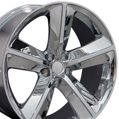 OE Wheels LLC 20 Inch Fits Dodge Challenger Charger SRT8 Magnum Chrysler 300 SRT8 DG05 Chrome 20x9 Rim Hollander 2357