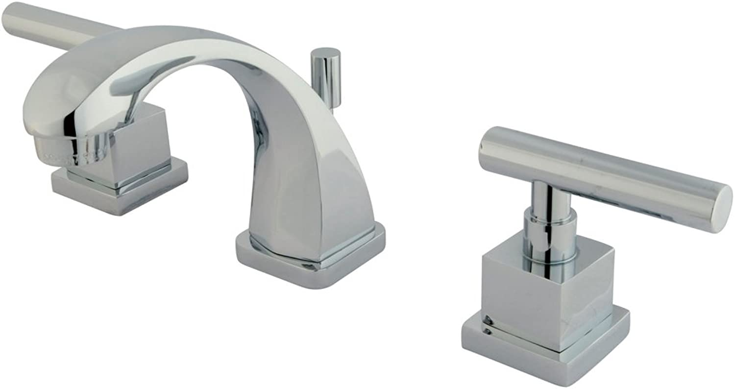 Nuvo Elements of Design ES4941CQL Rio Mini-Widespread Lavatory Faucet with Pop-up, 3-7 8 , Polished Chrome