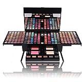 Pure Vie® 180 Colori Palette Ombretti Cosmetico Tavolozza per Trucco Occhi - Adattabile a Uso Professionale che Privato
