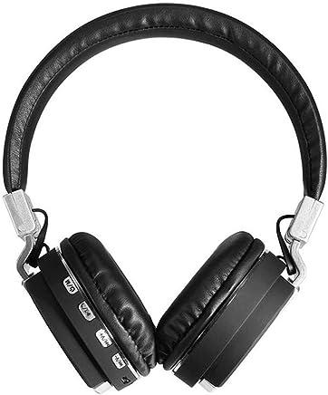 Auricolari Bluetooth Cuffie Cuffie senza fili Bluetooth + Funzione MP3 2in1, Cuffie stereo senza fili Heavy Bass (Color : Black) - Trova i prezzi più bassi