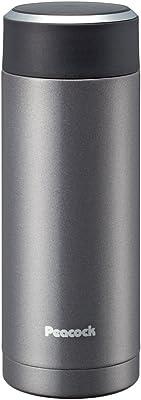 ピーコック ステンレスボトル 【マグタイプ】 0.35L メタリックブラック AMG-35(BH)