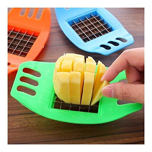 Yg-ct Edelstahl Kartoffelschneider Slicer Chopper Küche, die Werkzeug-Gadgets Multifunktions-Potato Slicer