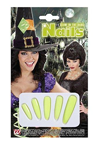 Lot kostuum - vermomming - carnaval - halloween - heks - spitsmuis - tovenares - veelkleurige vijf nagels - volwassenen - vrouw - meisje