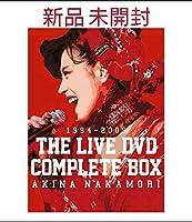 中森明菜中森明菜 1994-2009 THE LIVE DVD COMPLETE BOX〈7枚組〉80年代アイドル コレクション