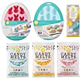 Wilton Moldes de Pascua y Candy Melts Candy Making Set, 6 piezas