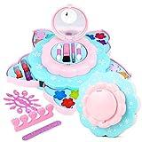Terynbat Set de maquillaje para niños, My First Princess lavable maquillaje Set-child Makeup Set-pretend Girl Makeup-girl Maquillaje juguete de maquillaje