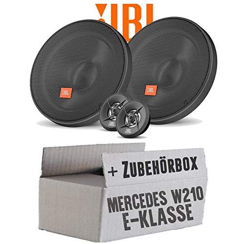 Lasse W210 Heck Ablage - Lautsprecher Boxen JBL 16cm System Auto Einbausatz - Einbauset für Mercedes E-Klasse JUST SOUND best choice for caraudio