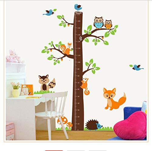 Hfwh muursticker, voor kinderen, kinderkamer, om zelf te maken, cartoon, hoogte x hoogte