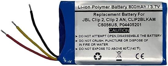 jbl clip 2 battery