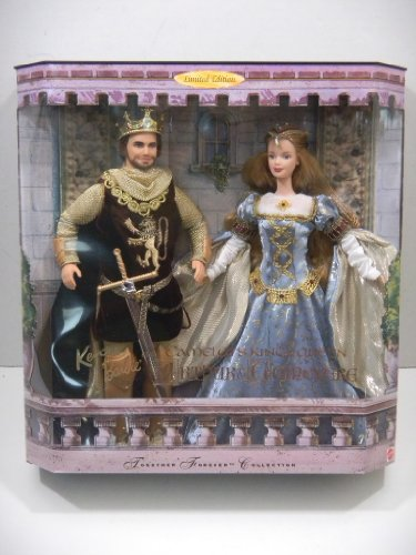 Ken & Barbie As Camelot's King & Queen Arthur & Guinevere / Together Forever Collection Limited Edition # 23880