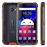 Téléphone Portable Incassable Blackview BV5900(2020) Android 10 Smartphone Antichoc Étanche, Double 4G LTE 3Go+32Go, 5.7'' HD+IPS 1520 * 720, 13.0MP+5.0MP Caméra, Mode Caméra sous-Marine, NFC, Face ID