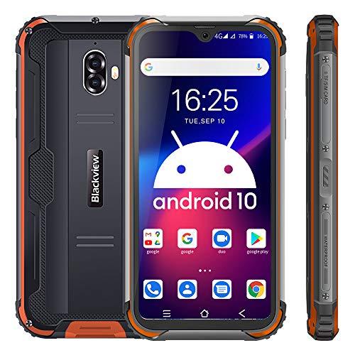 Rugged Smartphone 4G,Blackview BV5900 Cellulare Antiurto Android 10, 5.7 Pollici Telefono Resistente, 3+32GB, Batteria 5580mAh, 13MP+5MP, TF 256GB, Dual SIM, GPS/Face ID Telefoni Cellulari in offerta