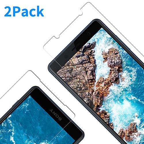 Vkaiy Bildschirmschutzfolie für Sony Xperia XZ2 Compact, 9H Härte, Anti-Kratzen, Anti-Öl, Anti-Bläschen, HD Klar Glas Bildschirmschutz Panzerglas kompatibel mit Xperia XZ2 Compact, 2 Stück