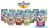 San Pellegrino Sparkling Fruit Beverages - All Flavor Variety Pack (Sampler), 11.15 Fl Oz Cans, Naturally Flavored Sparkling Water | 7 Flavors - Pack of 14