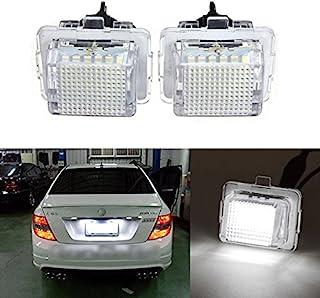 Gzlmmy 2/x 18-smd LED targa luci targa lampadina per classe C W203/4D berlina 2001/ /2007/SMD3528