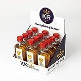 Spice Monkey Spice Monkey | 12 botellas miniatura 50ml | Licor de Whisky, Canela y Chili | botellas de licor miniatura | miniaturas de whisky | botellitas whisky | licores para bodas - 600 ml