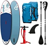Fanatic Pure Air Inflatable SUP 10.4 Stand up Paddle Board mit Pure Paddel 2019 -