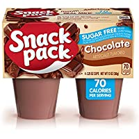 12-Pack of 4-Count Snack Pack Sugar-Free Chocolate Pudding Cups