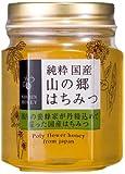 日新蜂蜜 純粋 国産山の郷はちみつ 瓶140g
