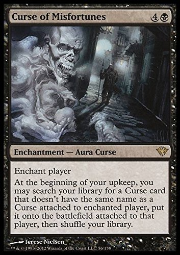 Magic: the Gathering - Curse of Misfortunes (56) - Dark Ascension