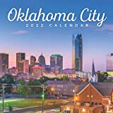 Oklahoma City Calendar 2022: Gifts for Friends and Family with 12-month Monthly Calendar in 8.5x8.5 inch
