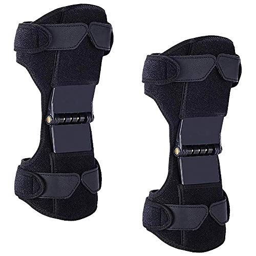 2 Packs Power Knee Brace Joint Support, Power Knee Stabilizer Pads, Protective Gear Booster with...