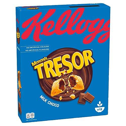 Kellogg's Tresor Milk Choco | Cerealien mit Schokofüllung | Einzelpackung (1 x 375g)