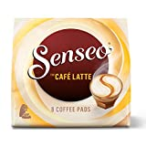 Senseo Café Latte, Monodosis de Café con Leche, Nueva Receta, 8 Unidades